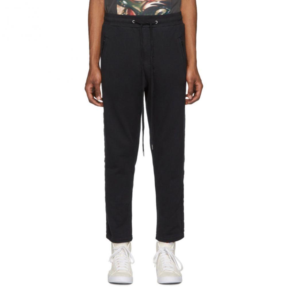 スビ Ksubi メンズ スウェット・ジャージ ボトムス・パンツ【Black Eclipse Sweatpants】Black