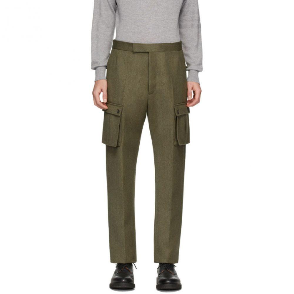 トム ブラウン Thom Browne メンズ カーゴパンツ ボトムス・パンツ【Green Norfolk Cargo Pants】Green