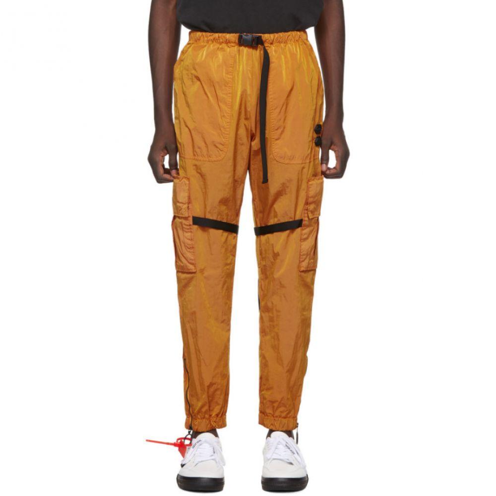 オフホワイト Off-White メンズ カーゴパンツ ボトムス・パンツ【Orange Parachute Cargo Pants】Orange/White