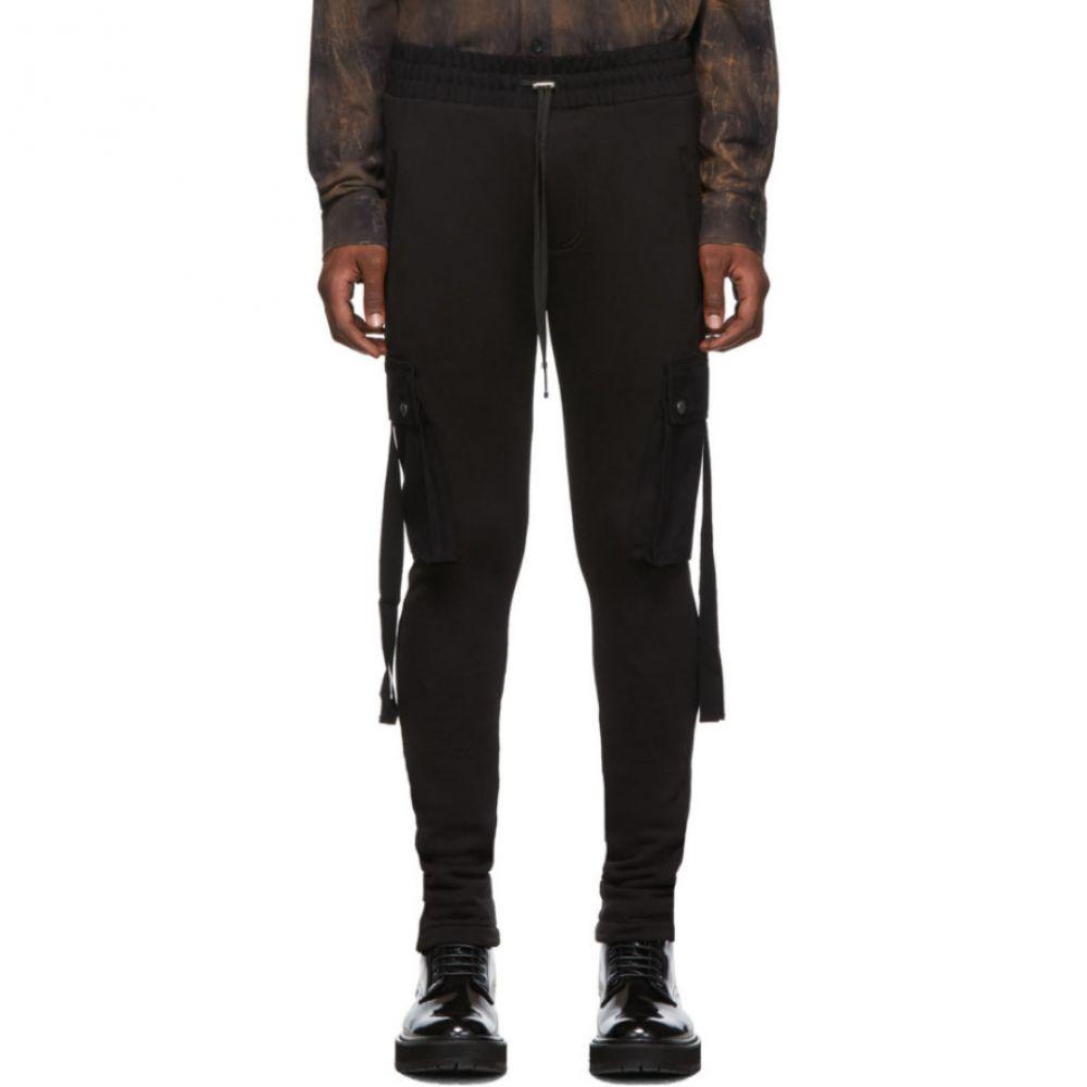 アミリ Amiri メンズ カーゴパンツ ボトムス・パンツ【Black Lounge Cargo Pants】Black