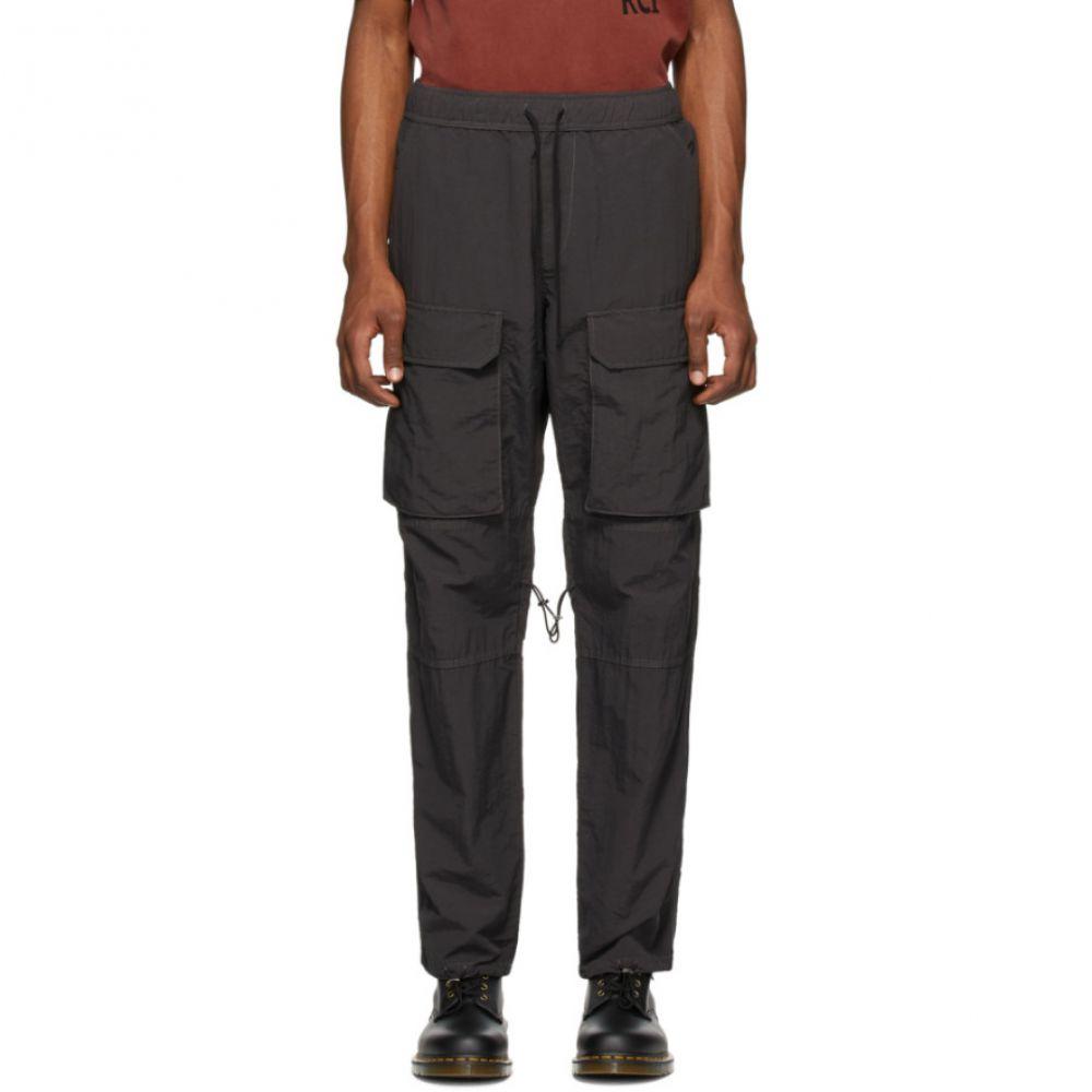 リースクーパー Reese Cooper メンズ カーゴパンツ ボトムス・パンツ【Grey Nylon Cargo Pants】Grey