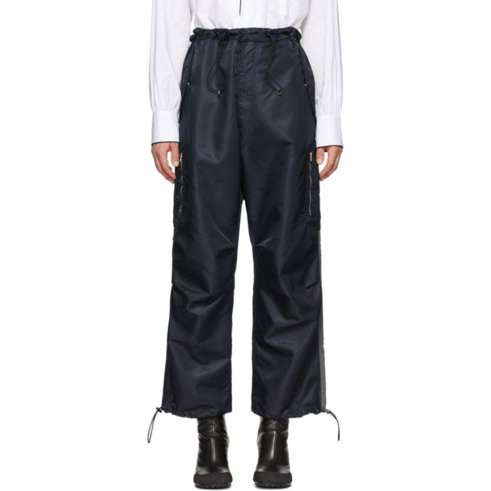 ランダム アイデンティティーズ Random Identities メンズ カーゴパンツ ボトムス・パンツ【Navy Berlin Baggies Cargo Pants】Navy/Grey