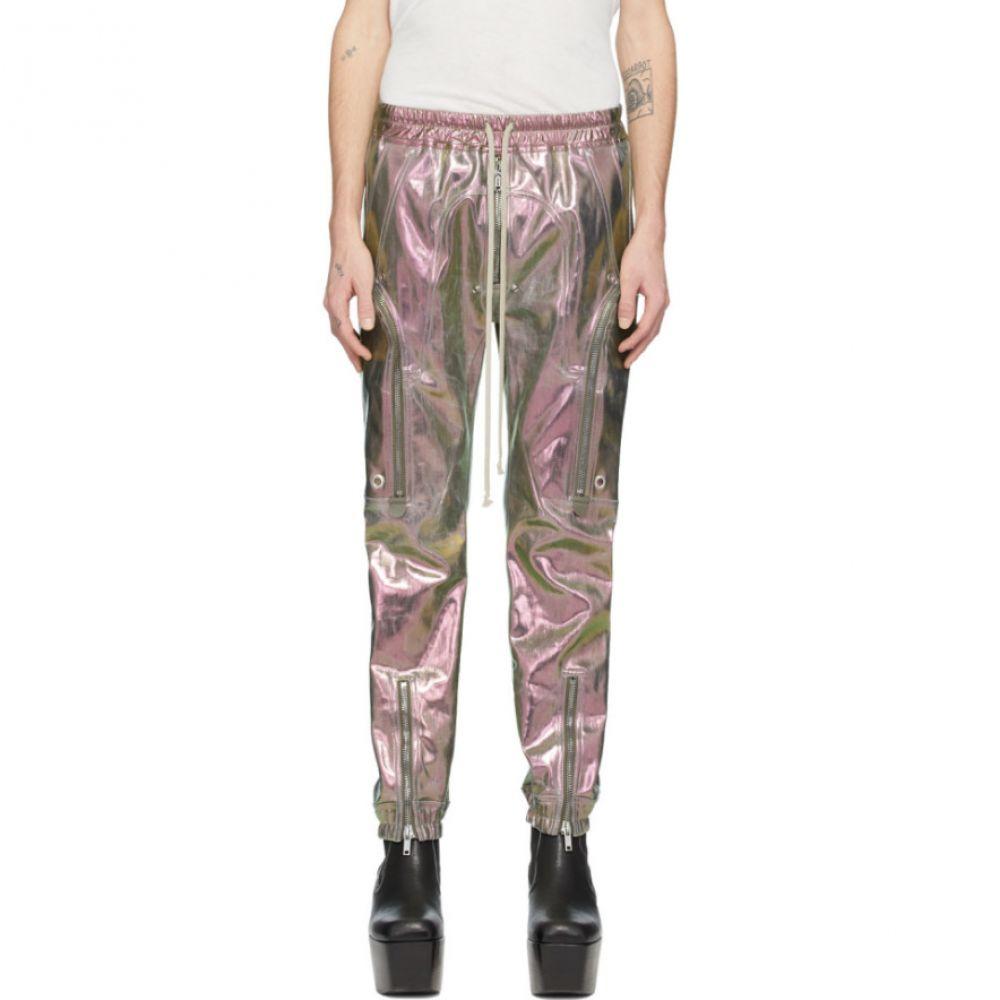リック オウエンス Rick Owens メンズ カーゴパンツ ボトムス・パンツ【Green & Purple Iridescent Bauhaus Cargo Pants】Iridescent