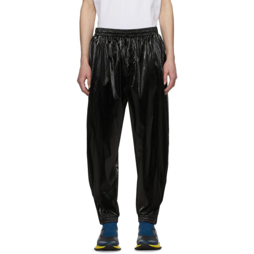 ジバンシー Givenchy メンズ スウェット・ジャージ ボトムス・パンツ【Black Shiny Lounge Pants】Black