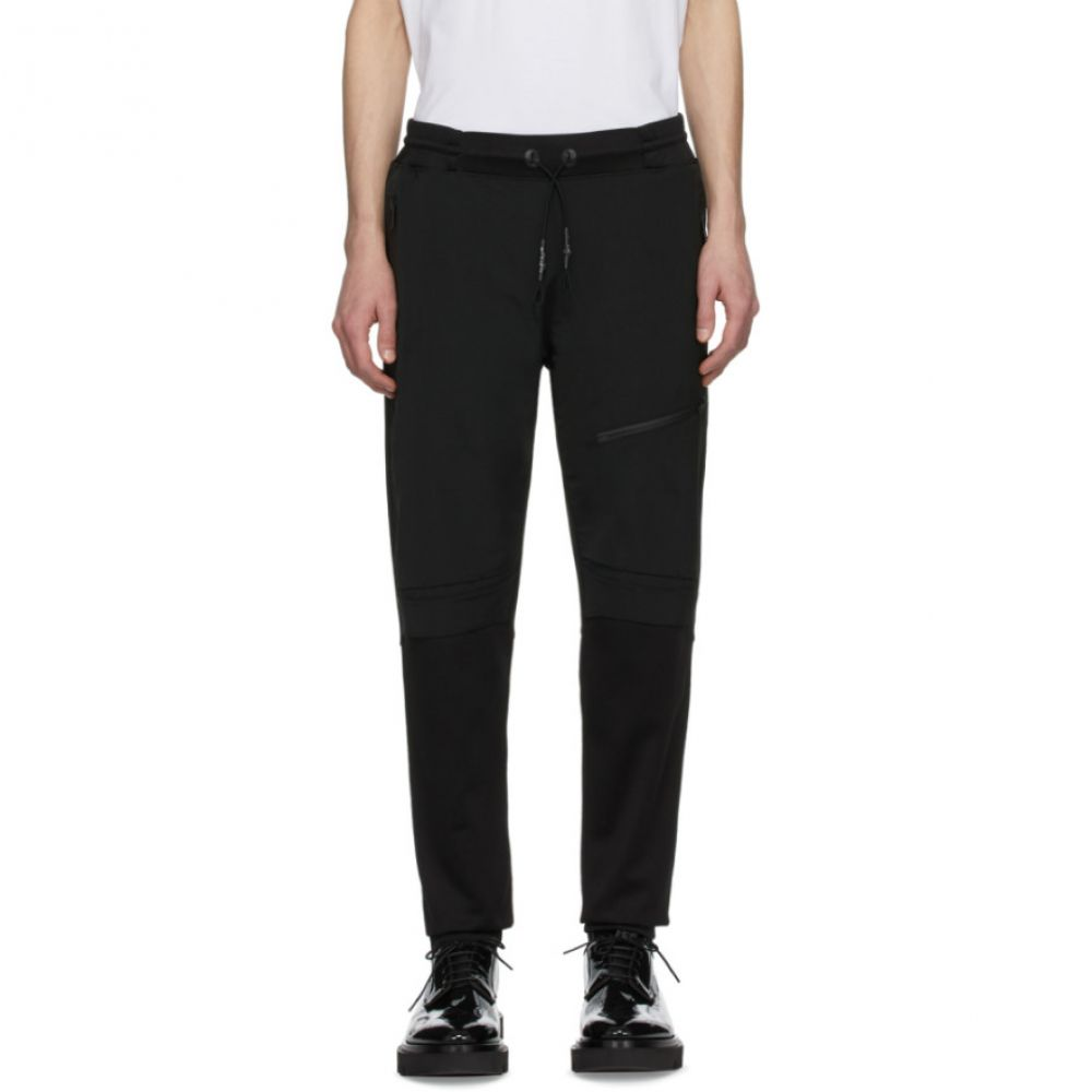 ジバンシー Givenchy メンズ スウェット・ジャージ ボトムス・パンツ【Black Wool Tech Lounge Pants】Black