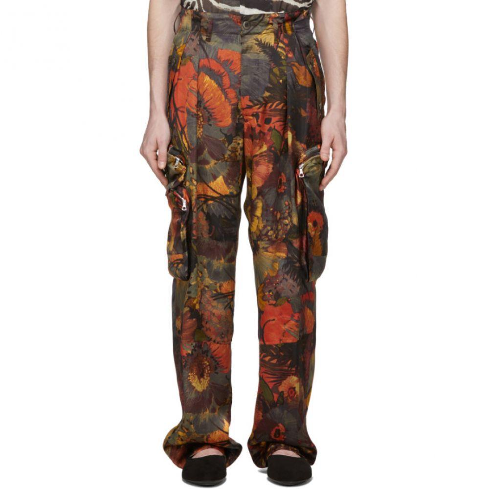 ドリス ヴァン ノッテン Dries Van Noten メンズ カーゴパンツ ボトムス・パンツ【Multicolor Floral Trousers】Multi