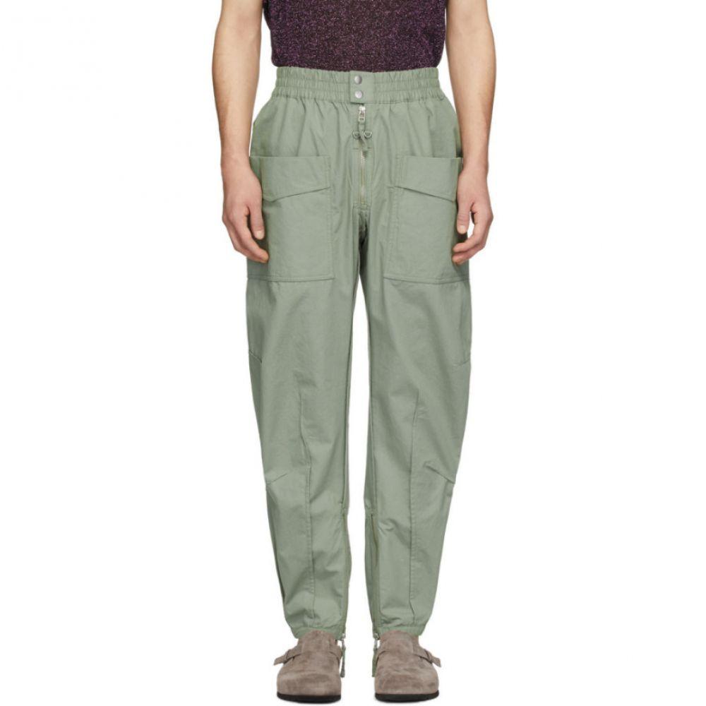イザベル マラン Isabel Marant メンズ カーゴパンツ ボトムス・パンツ【Green Tilsen Cargo Pants】Verdigris