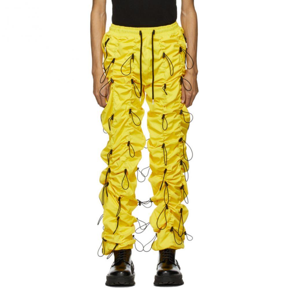 ナインティナインパーセントイズ 99% IS メンズ スウェット・ジャージ ボトムス・パンツ【Yellow Gobchang Lounge Pants】Yellow/Black