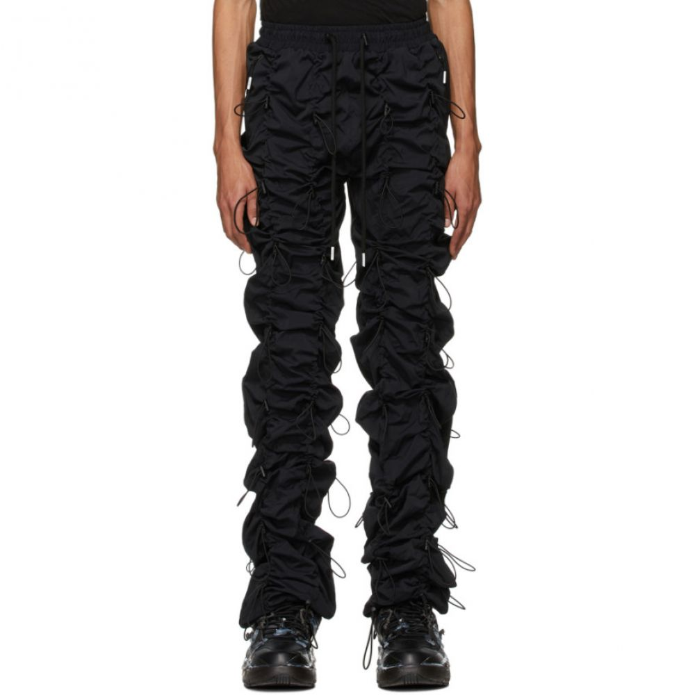 ナインティナインパーセントイズ 99% IS メンズ スウェット・ジャージ ボトムス・パンツ【Black Gobchang Lounge Pants】Black