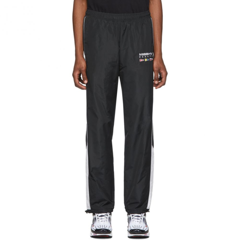 ミスビヘイブ MISBHV メンズ スウェット・ジャージ ボトムス・パンツ【Black 'The Sailing' Track Pants】Black