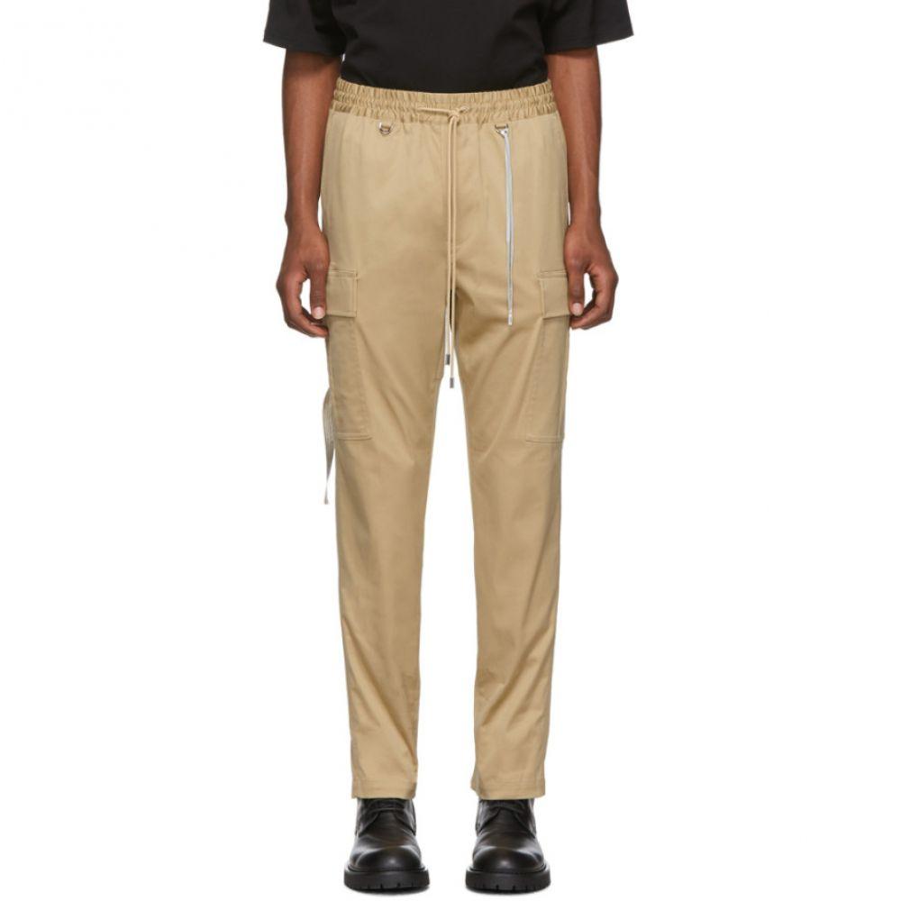 マスターマインド mastermind WORLD メンズ カーゴパンツ ボトムス・パンツ【Beige Drawstring Cargo Pants】Beige