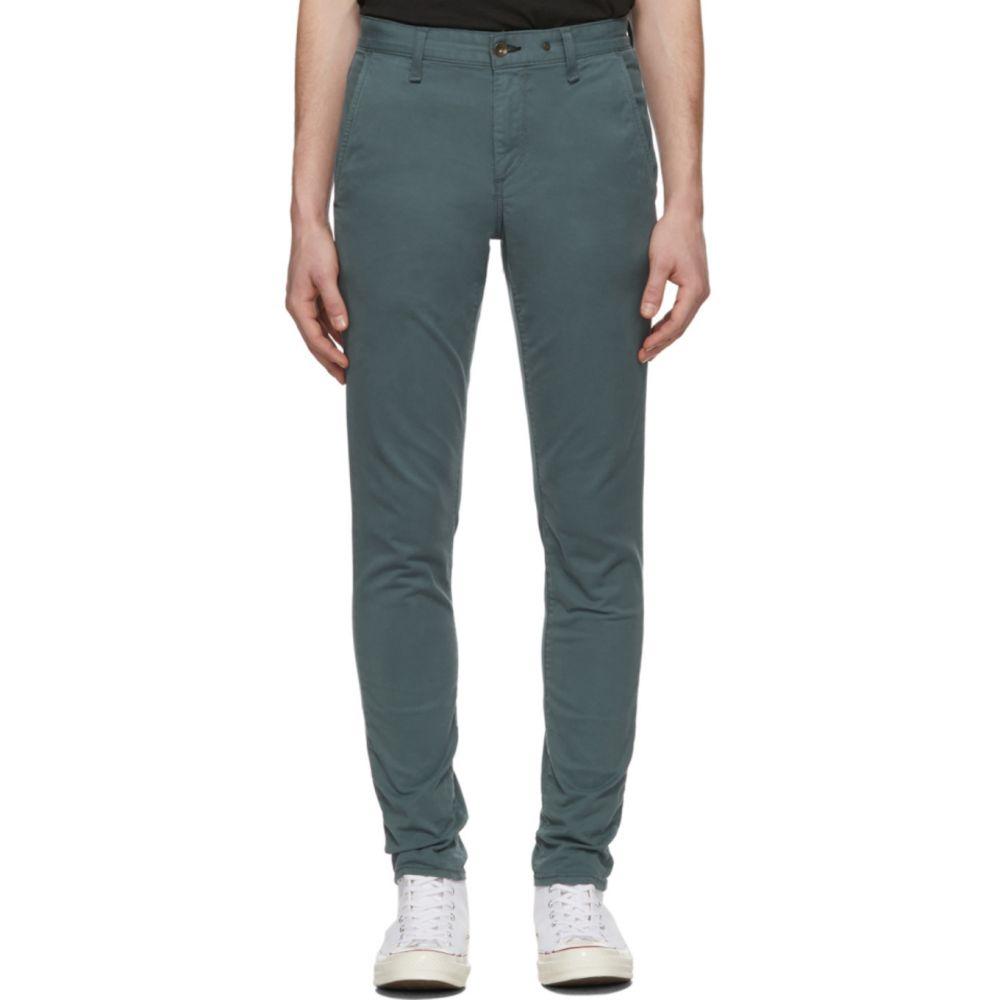 ラグ&ボーン rag & bone メンズ チノパン ボトムス・パンツ【Green Fit 1 Chino Trousers】Fatigue green