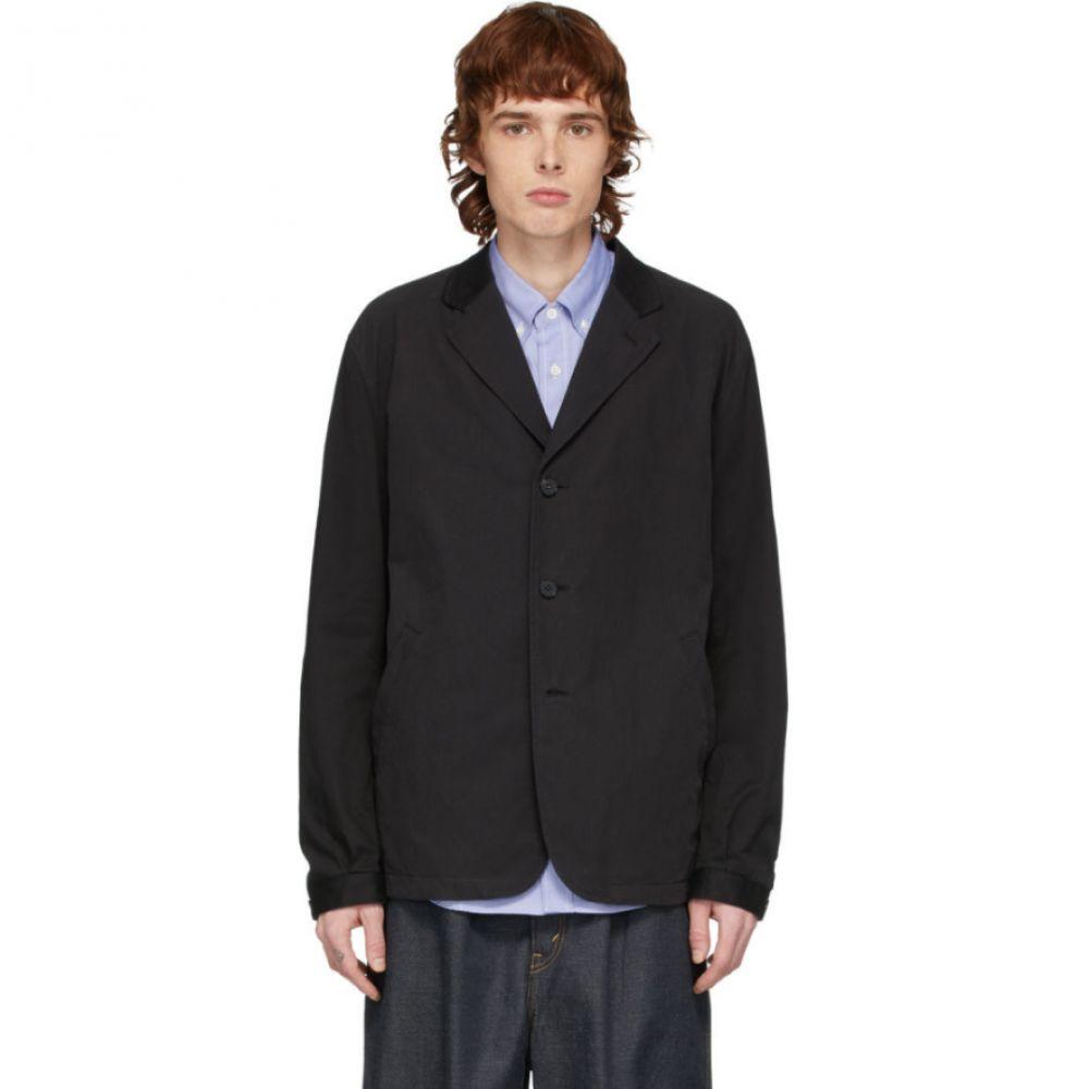コム デ ギャルソン Comme des Garcons Homme メンズ スーツ・ジャケット アウター【Black Twill Ripstop Blazer】Black