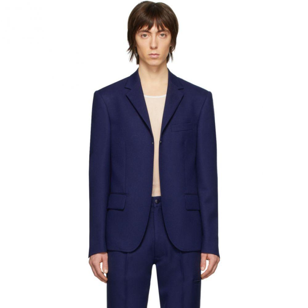 ランダム アイデンティティーズ Random Identities メンズ スーツ・ジャケット アウター【Navy Buttonless Blazer】Navy