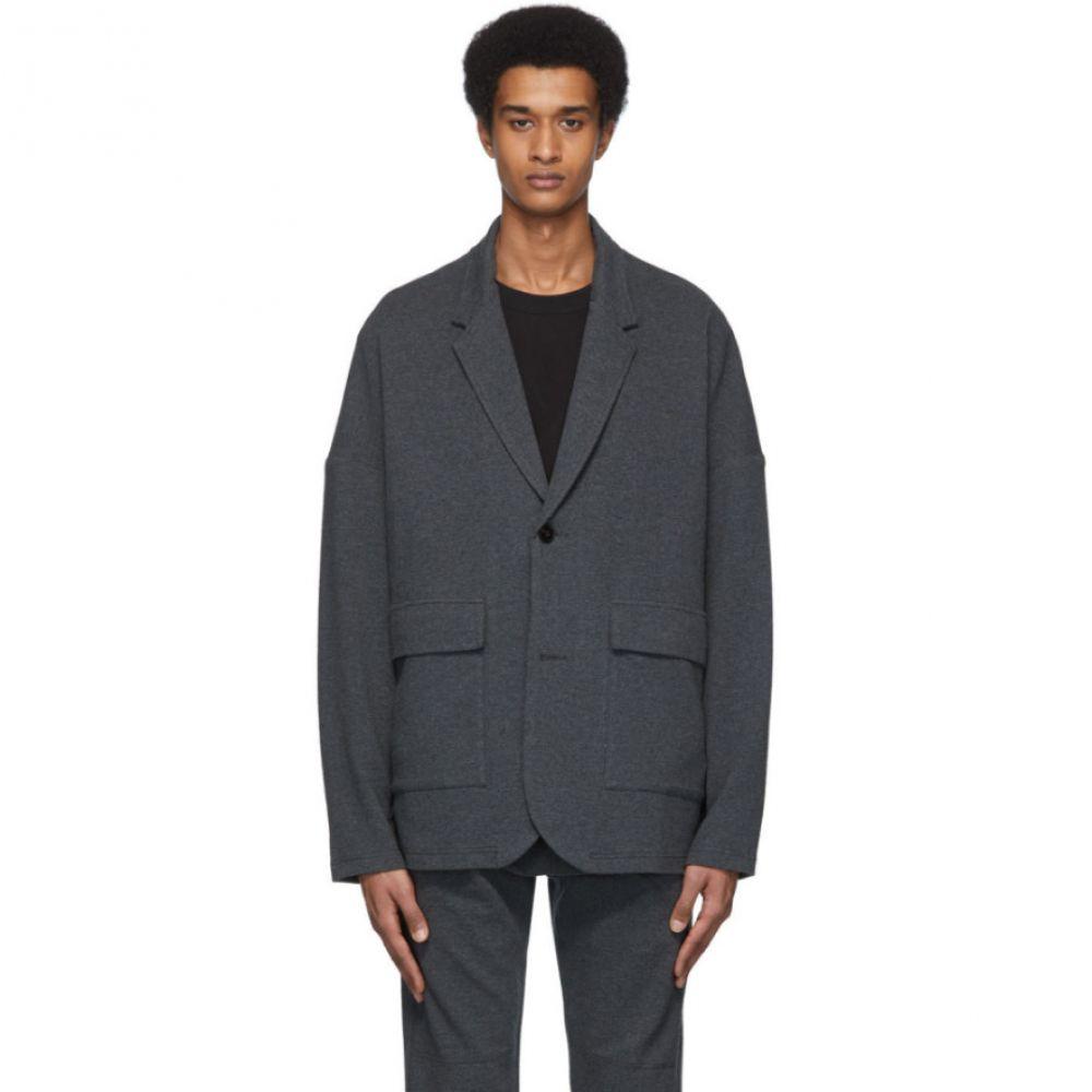 ロバートゲラー Robert Geller メンズ スーツ・ジャケット アウター【Grey 'The New Richard' Blazer】Grey