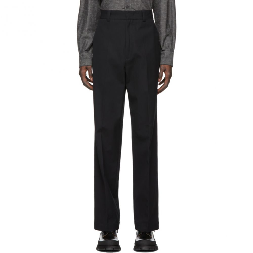 ジル サンダー Jil Sander メンズ ボトムス・パンツ 【Navy Embroidered Trousers】Dark blue