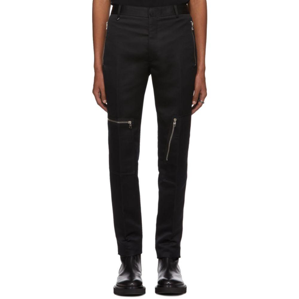 アレキサンダー マックイーン Alexander McQueen メンズ ボトムス・パンツ 【Black Techno Twill Trousers】Black
