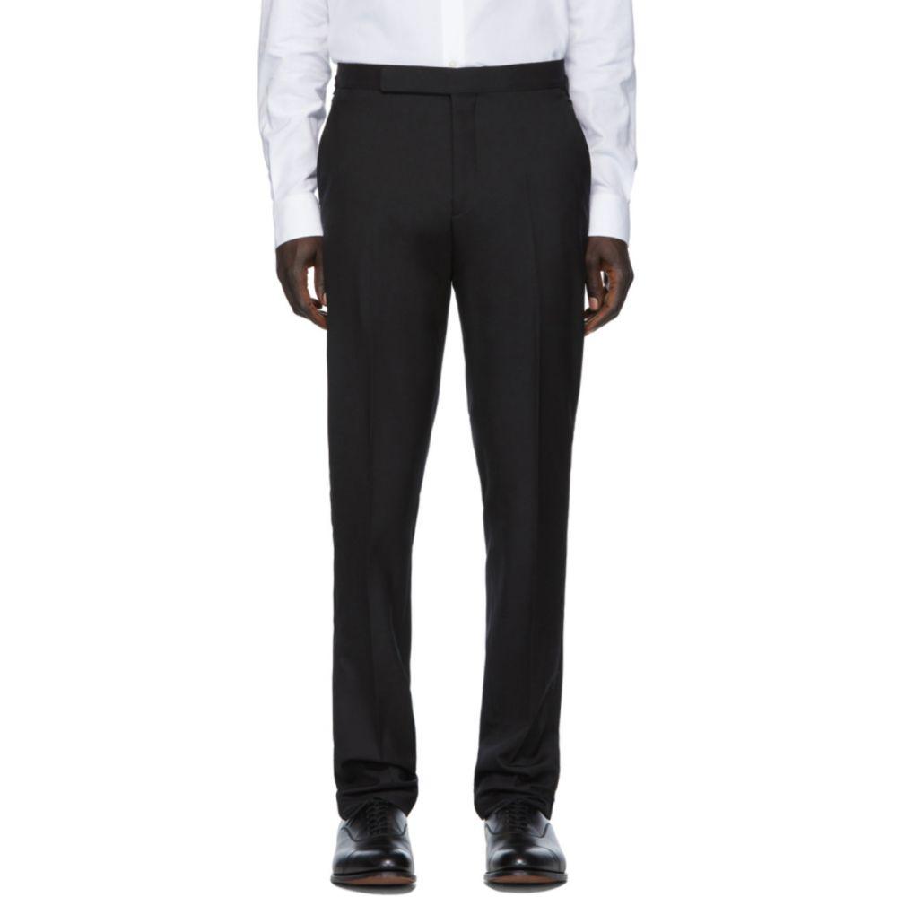 ラルフ ローレン Ralph Lauren Purple Label メンズ スラックス ボトムス・パンツ【Black Wool Gregory Trouser】Black