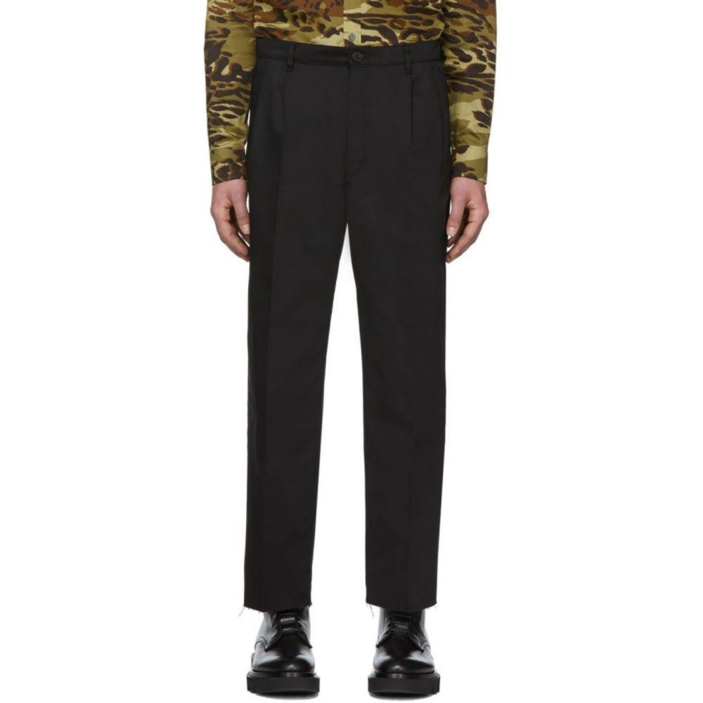 ジバンシー Givenchy メンズ チノパン ブーツカット ボトムス・パンツ【Black Bootcut Chino Trousers】Black