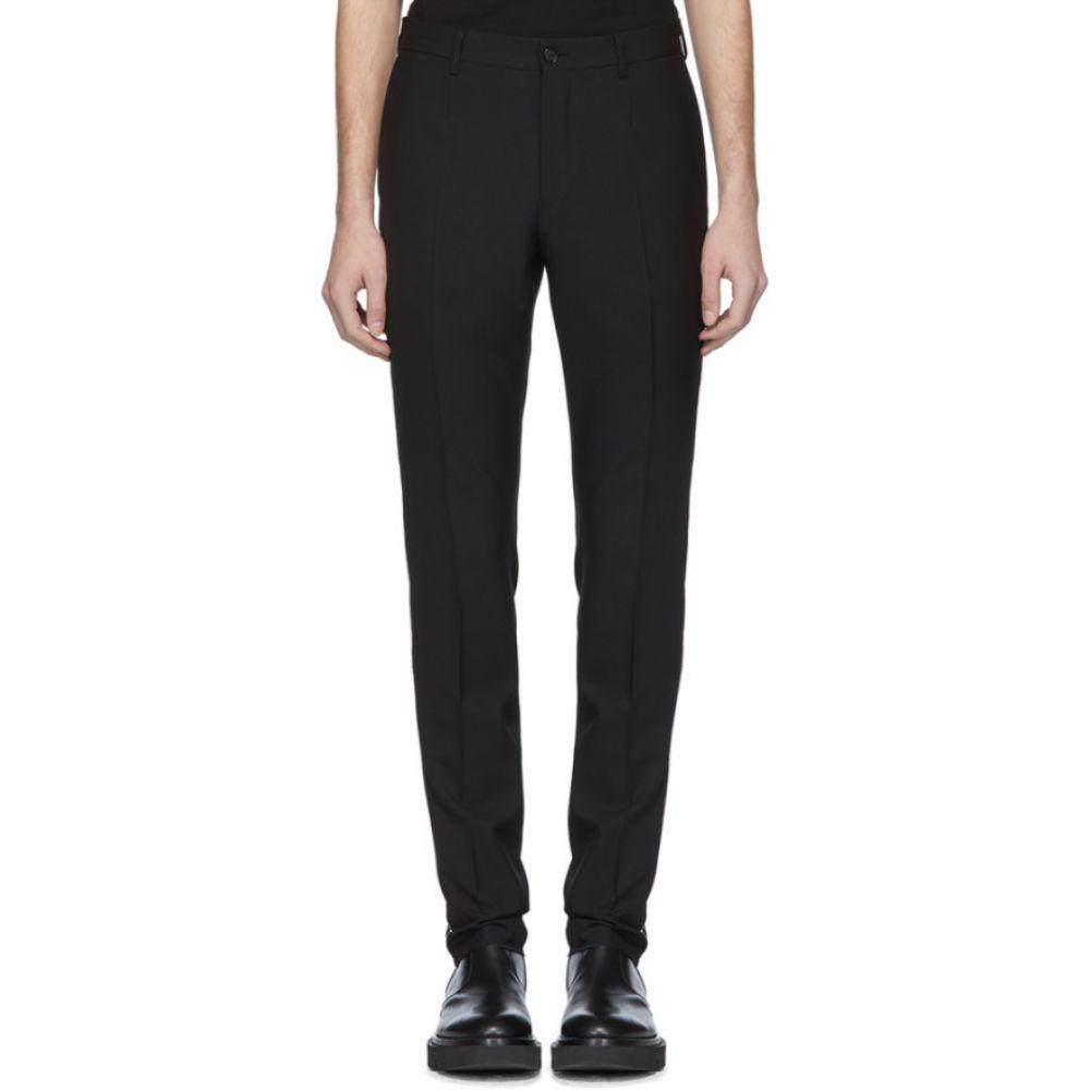 ヴェルサーチ Versace メンズ ボトムス・パンツ 【Black Swarovski Evening Trousers】Black