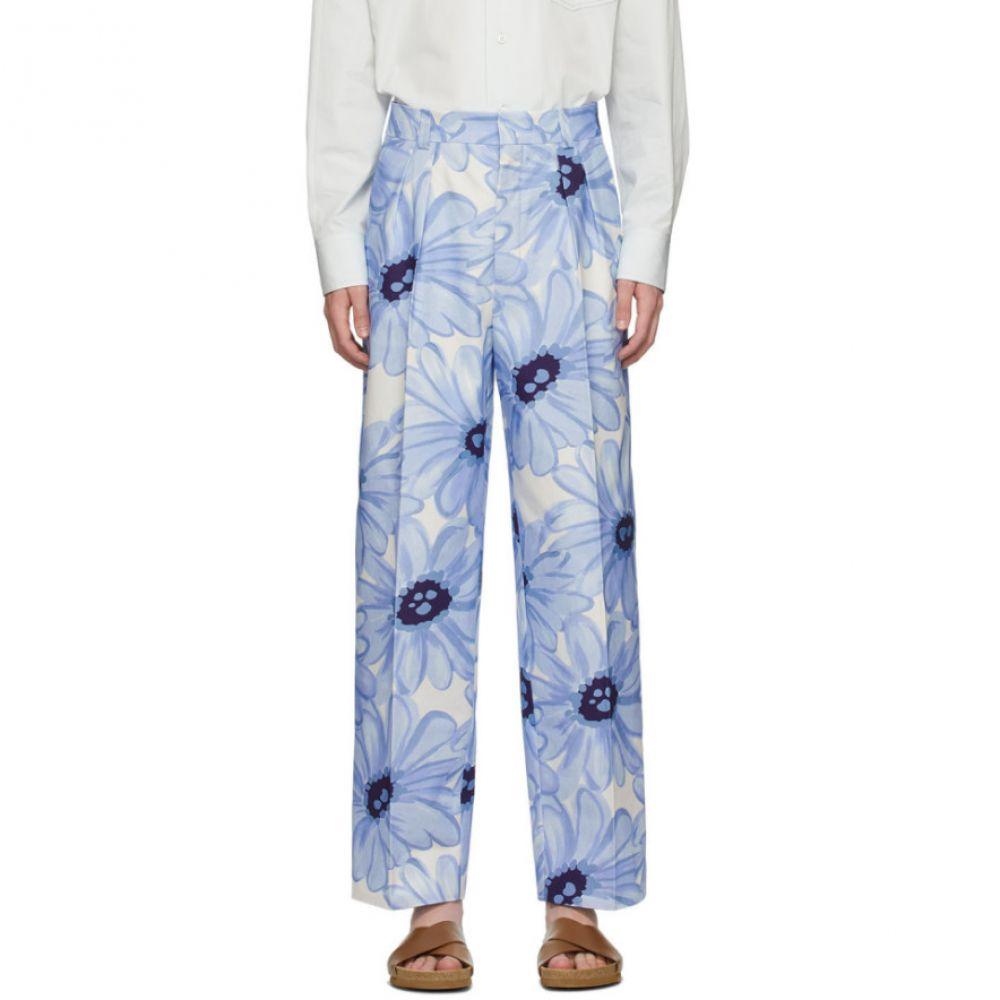 ジャックムス Jacquemus メンズ ボトムス・パンツ 【Blue Flowers 'Le Pantalon De Costume' Trousers】Blue flowers