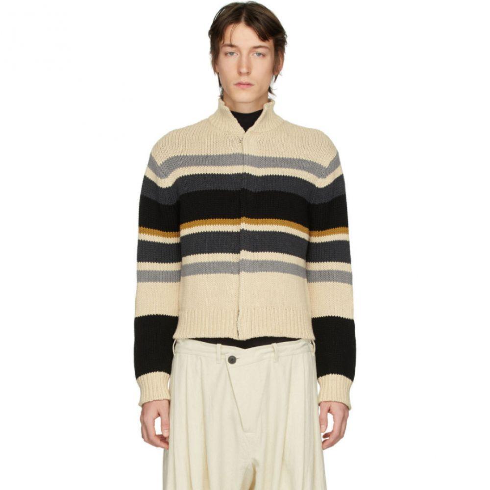 リンダー Linder メンズ カーディガン トップス【Multicolor Striped Kieran Cardigan】Multicolor