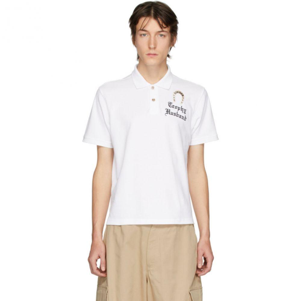 リンダー Linder メンズ ポロシャツ トップス【White 'Trophy Husband' Polo】White