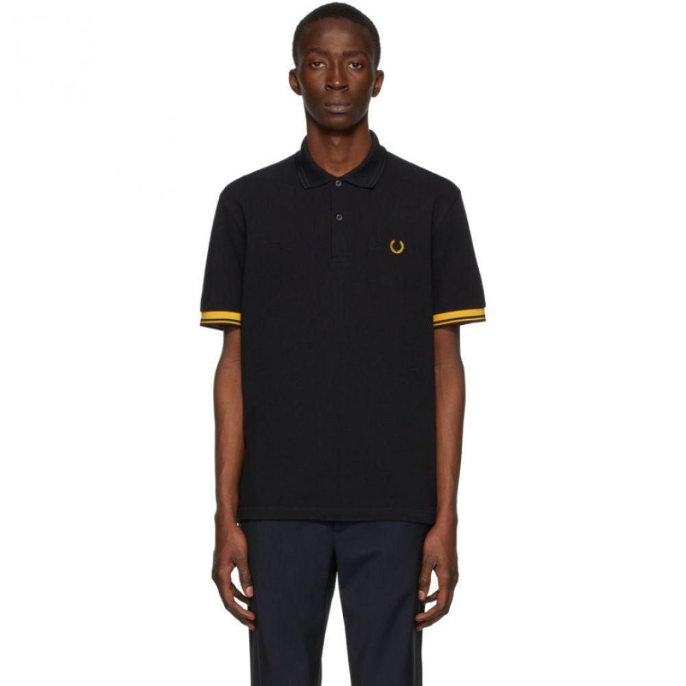コム デ ギャルソン Comme des Garcons Homme Deux メンズ ポロシャツ トップス【Black Fred Perry Edition Pique Polo】Black