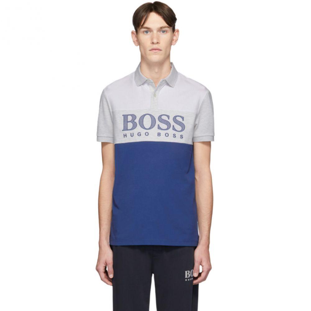 ヒューゴ ボス Boss メンズ ポロシャツ トップス【Blue Pavel Polo】Bright blue