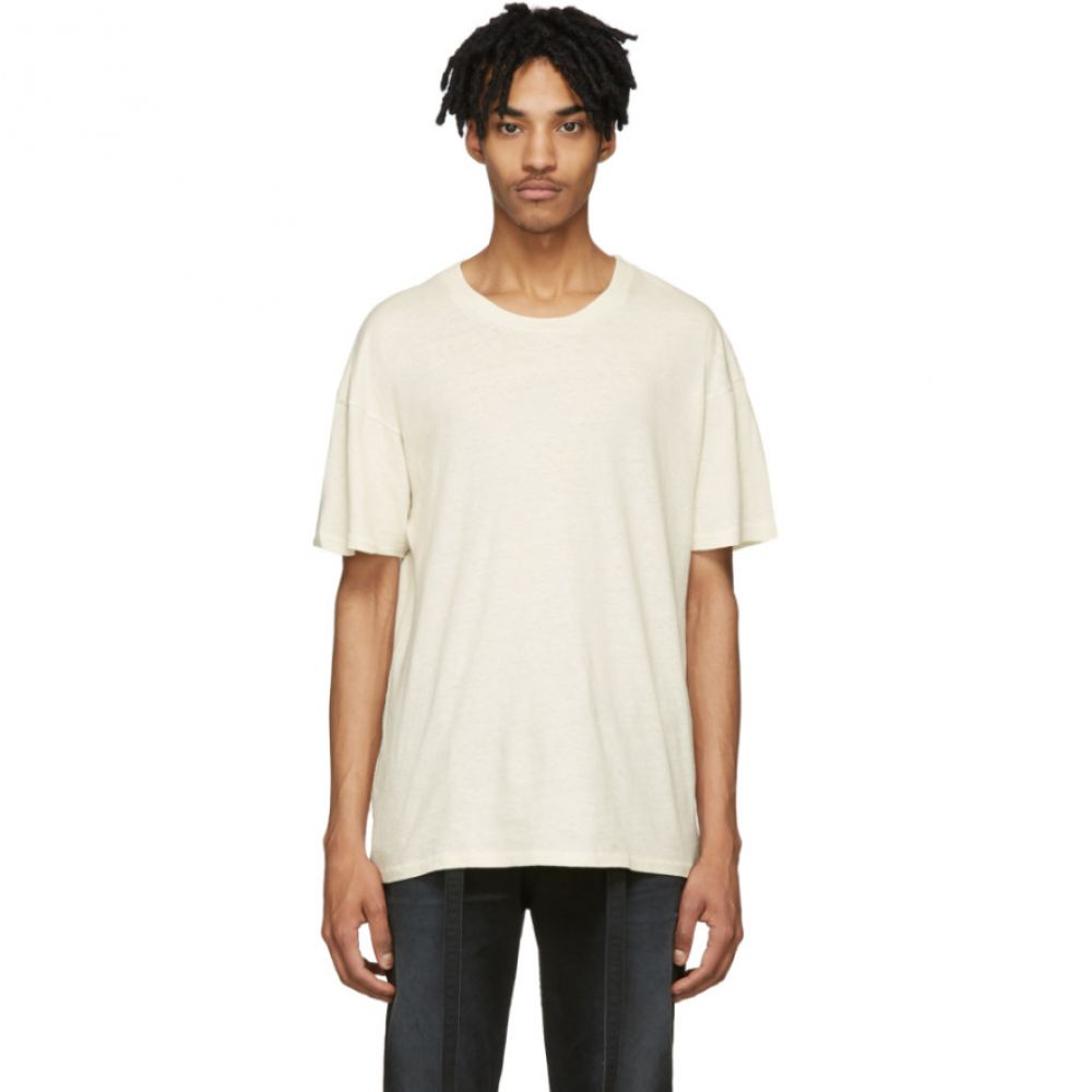 ビリー Billy メンズ Tシャツ トップス【Off-White Eastlake T-Shirt】Dusty white