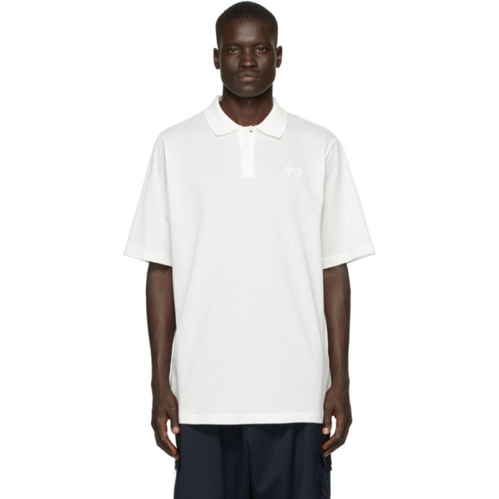 ワイスリー Y-3 メンズ ポロシャツ トップス【White Classic Pique Polo】White