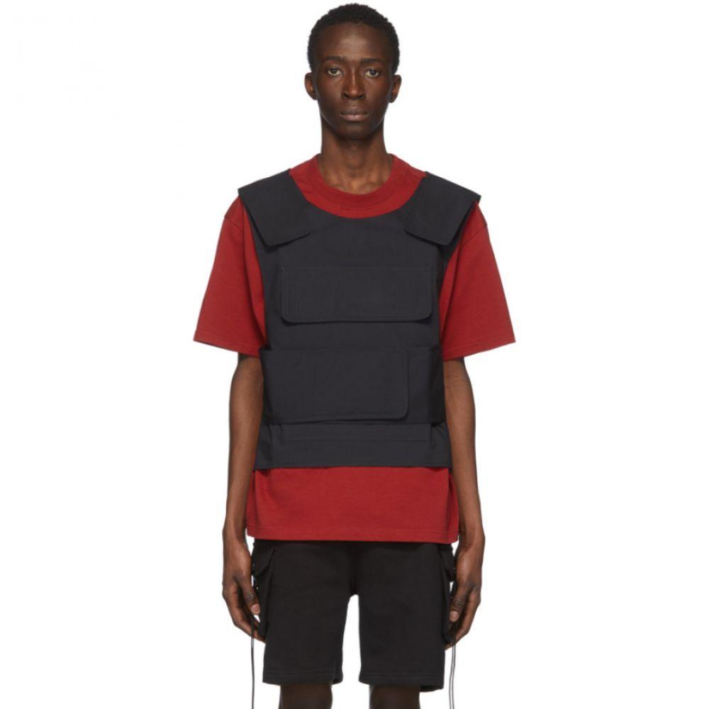サンクアンズ Sankuanz メンズ Tシャツ トップス【SSENSE Exclusive Red Harness T-Shirt】Red