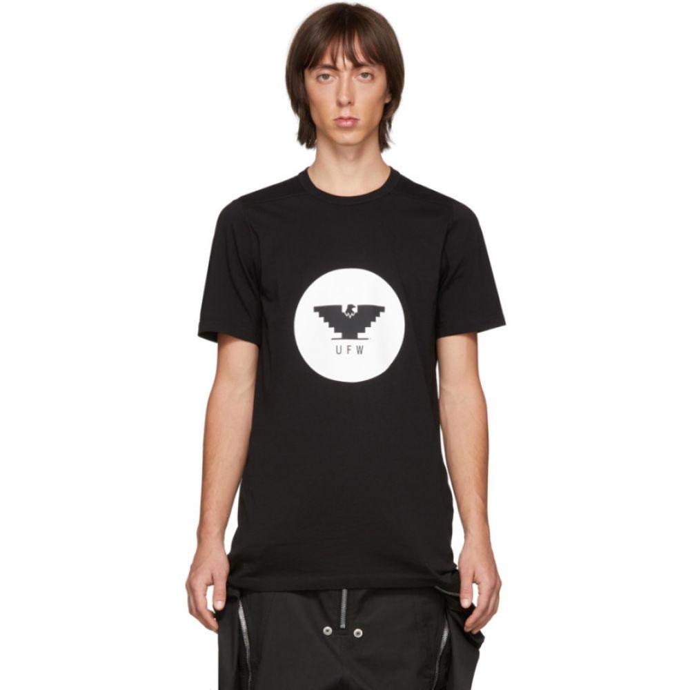 リック オウエンス Rick Owens メンズ Tシャツ トップス【Black Level T-Shirt】Black