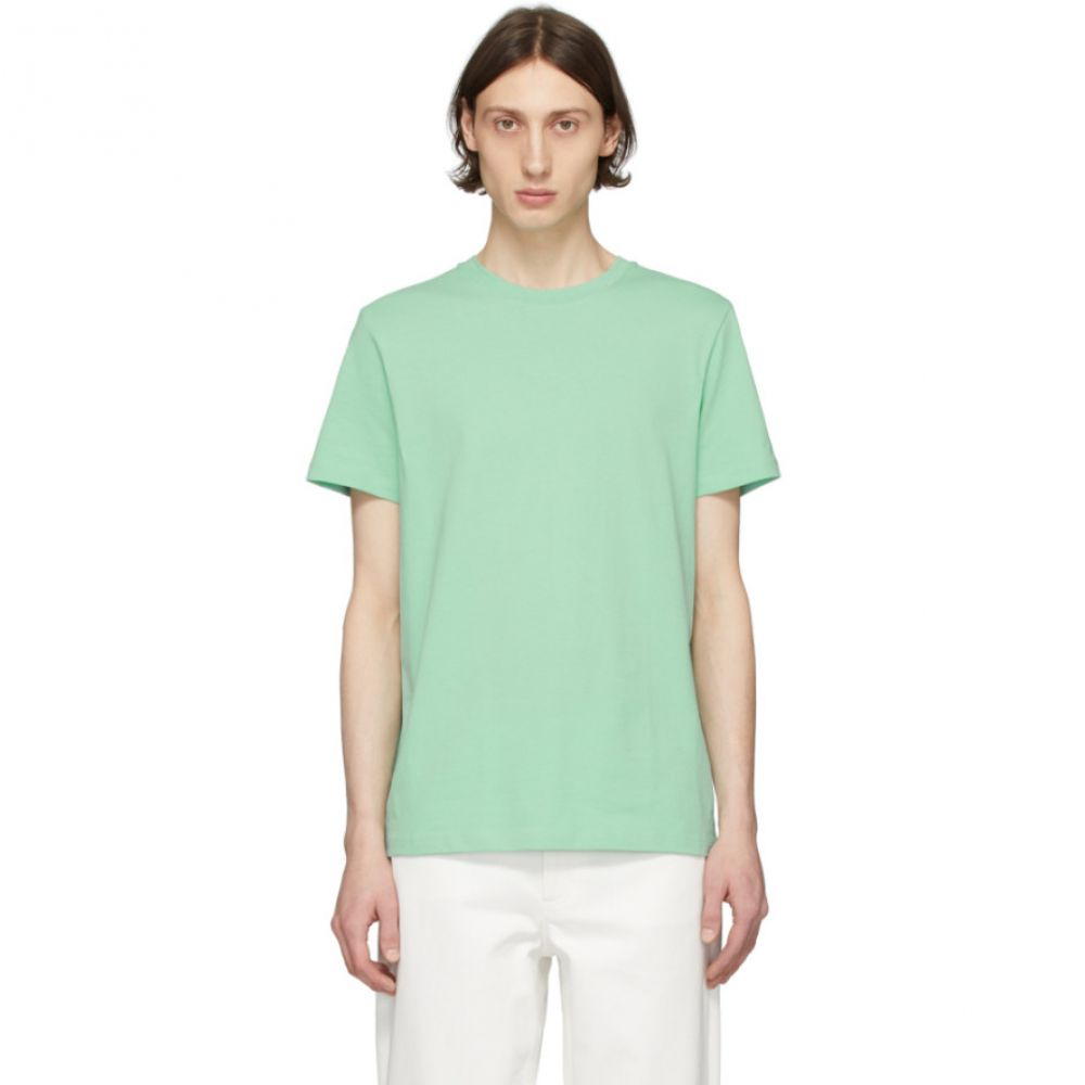 アーペーセー A.P.C. メンズ Tシャツ トップス【Green Jimmy T-Shirt】Vert pale
