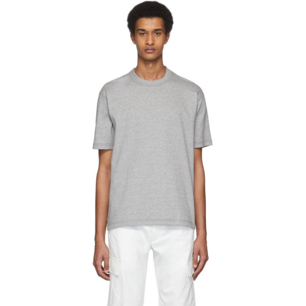 ジュンヤ ワタナベ Junya Watanabe メンズ Tシャツ トップス【Grey Cotton Jersey T-Shirt】Grey