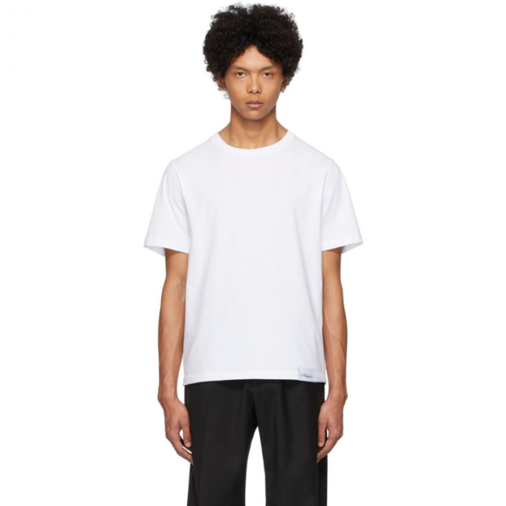 スリーワン フィリップ リム 3.1 Phillip Lim メンズ Tシャツ トップス【White Perfect T-Shirt】Optic white