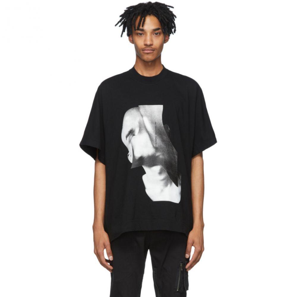 ユリウス Julius メンズ Tシャツ トップス【Black 'Dark Rhizone' T-Shirt】Black