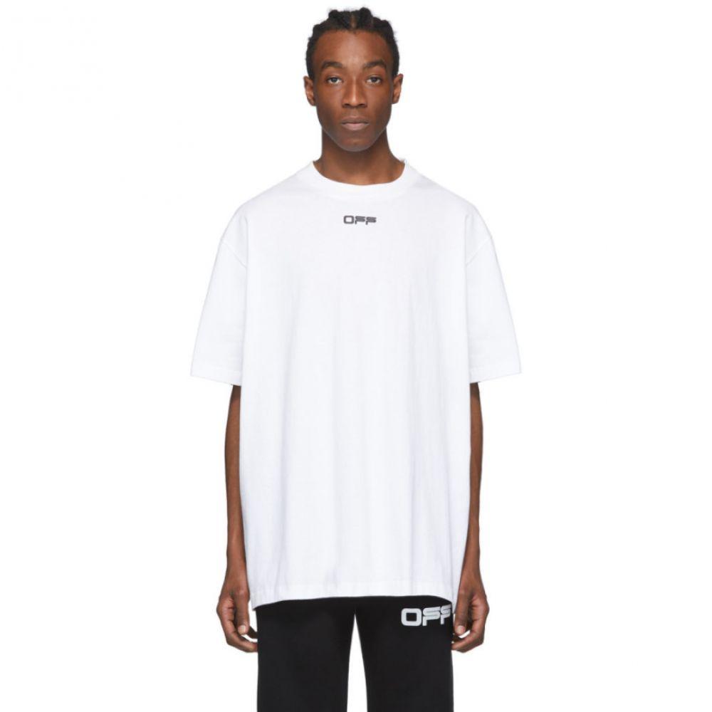 オフホワイト Off-White メンズ Tシャツ トップス【White Airport T-Shirt】Black/Multicolor