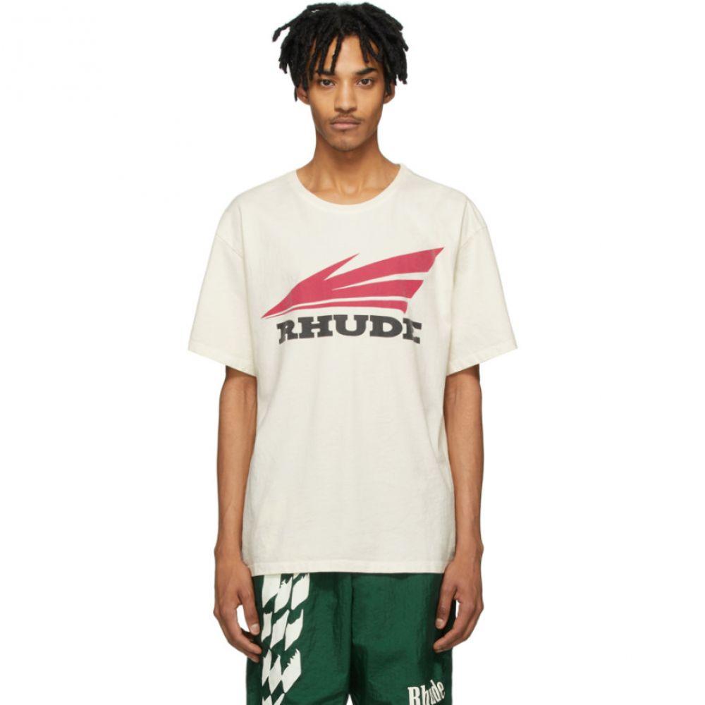 ルード Rhude メンズ Tシャツ トップス【Off-White Rhonda 2 T-Shirt】White