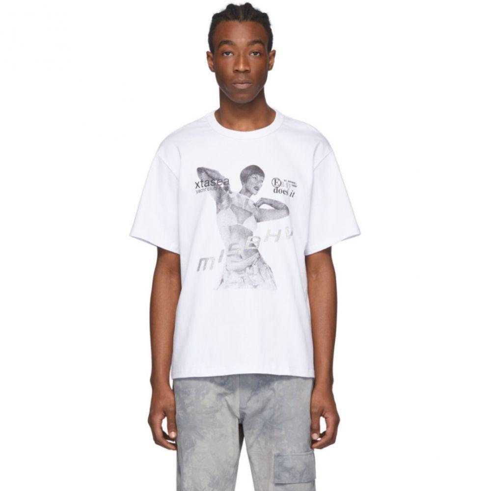 ミスビヘイブ MISBHV メンズ Tシャツ トップス【White 'Xtasea Ibiza V2' T-Shirt】White