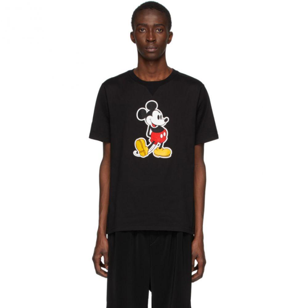 タカヒロミヤシタザソロイスト TAKAHIROMIYASHITA TheSoloist. メンズ Tシャツ トップス【Black Disney Edition Mickey T-Shirt】Black
