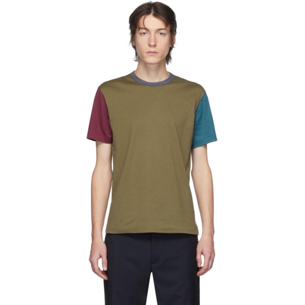 コム デ ギャルソン Comme des Garcons Homme Deux メンズ Tシャツ トップス【Multicolor Cotton Jersey T-Shirt】Multicolor