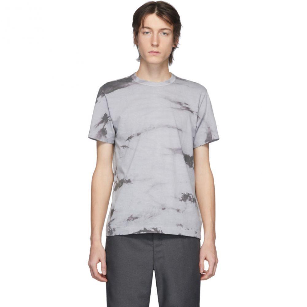 コム デ ギャルソン Comme des Garcons Homme Deux メンズ Tシャツ トップス【Grey Tie-Dye T-Shirt】Grey