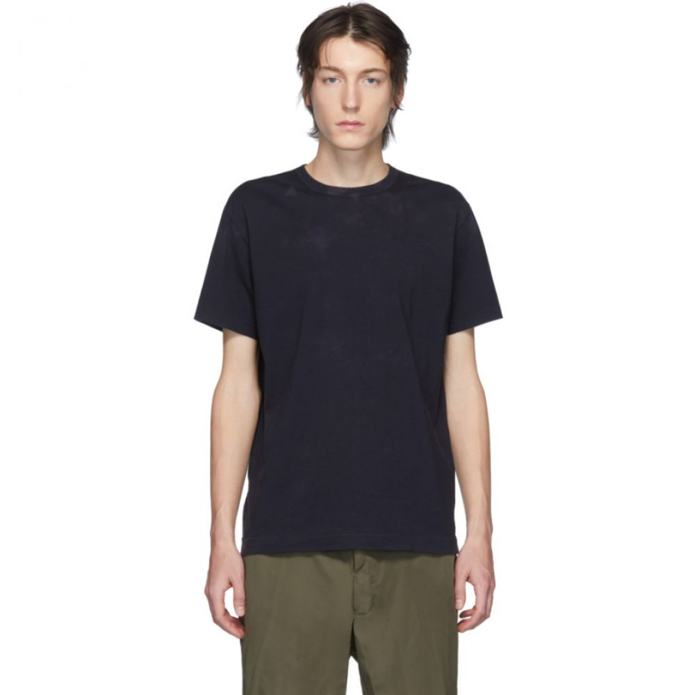 コム デ ギャルソン Comme des Garcons Homme Deux メンズ Tシャツ トップス【Navy Tie-Dye T-Shirt】Navy