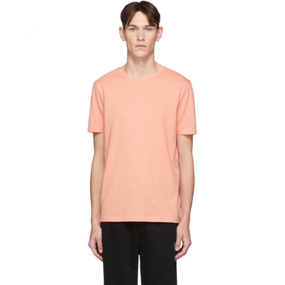 ヒューゴ ボス Hugo メンズ Tシャツ トップス【Orange Dero T-Shirt】Light orange