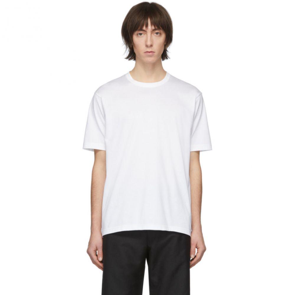 ジュンヤ ワタナベ Junya Watanabe メンズ Tシャツ トップス【White Jersey T-Shirt】White