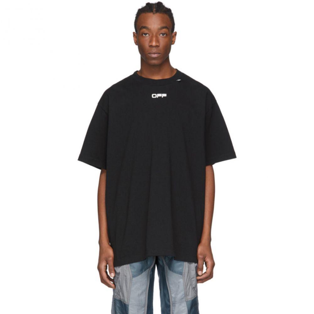 オフホワイト Off-White メンズ Tシャツ トップス【Black Caravaggio Arrows Over T-Shirt】Black/Multi