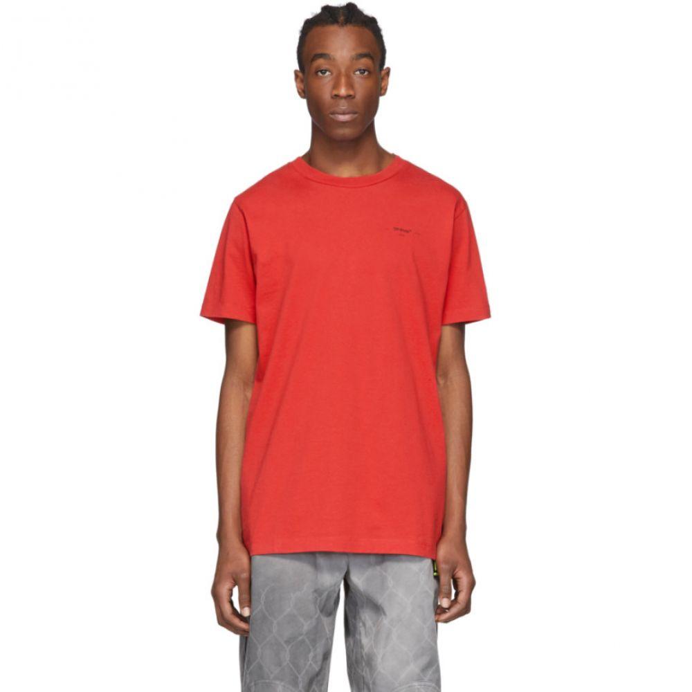 オフホワイト Off-White メンズ Tシャツ トップス【Red Arrows T-Shirt】Red/Black