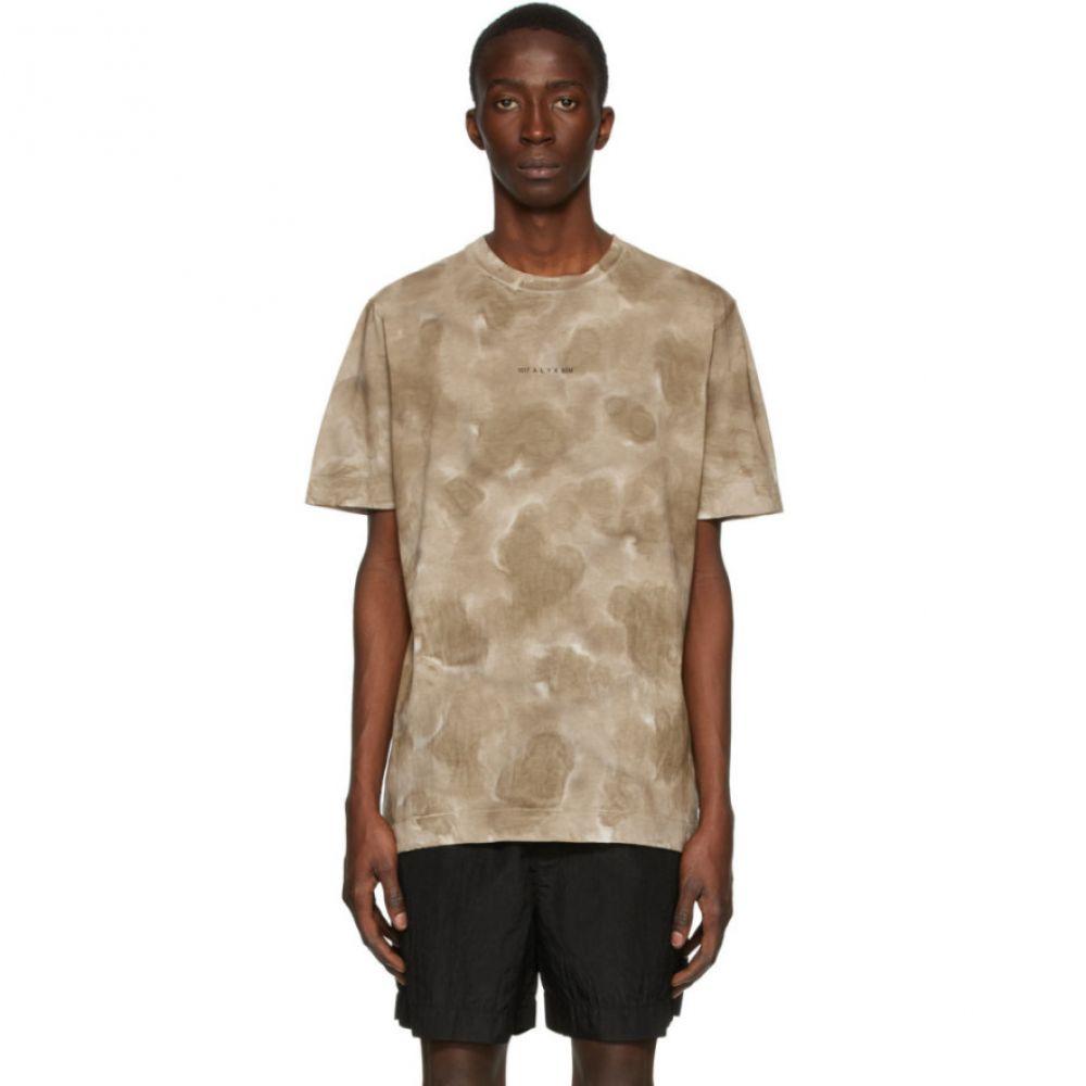 アリクス 1017 ALYX 9SM メンズ Tシャツ トップス【Tan 'A' Sphere T-Shirt】Dark sand