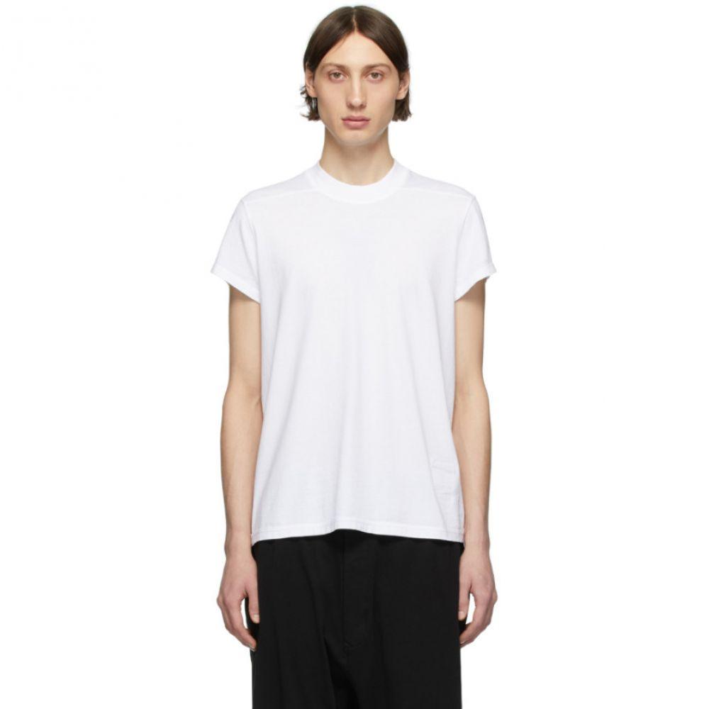 リック オウエンス Rick Owens Drkshdw メンズ Tシャツ トップス【White Small Level T-Shirt】White